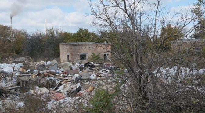 У промзоні в районі проспекту Хіміків виявлено найбільше в місті стихійне звалище загальною площею 30 га